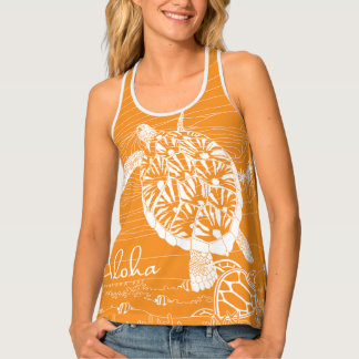 Sunrise Hawaii Hanauma Bay Turtle Tank Top