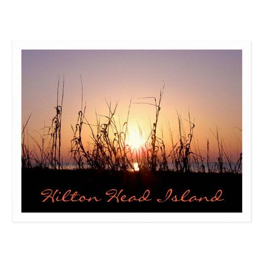 Sunrise Hilton Head Island Postcard