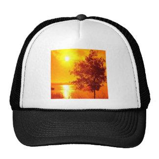 Sunrise Hot Amber Trucker Hat