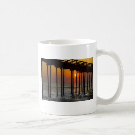 Sunrise in Avon, NC Coffee Mug
