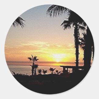 sunrise in cabo  sticker