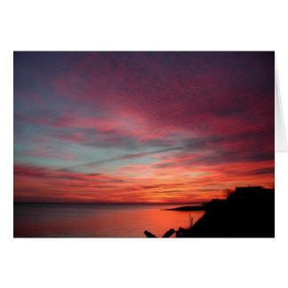 Sunrise in East Hampton Card
