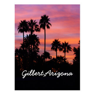 Sunrise in Gilbert,AZ Postcard