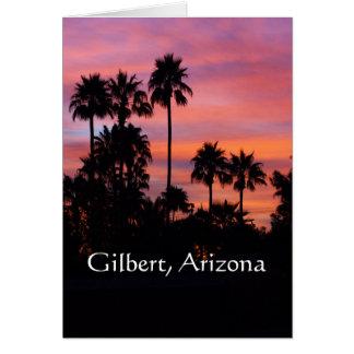 Sunrise in Gilbert Card