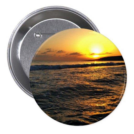 Sunrise in Greece Pinback Buttons