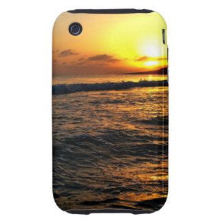 Sunrise in Greece Tough iPhone 3 Cover
