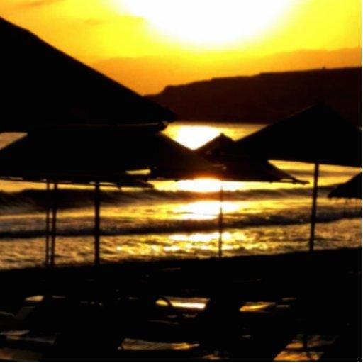 Sunrise in Greece Photo Cut Outs
