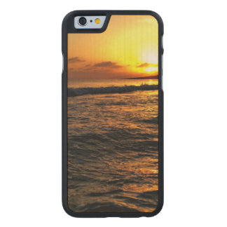 Sunrise in Greece Carved® Maple iPhone 6 Case
