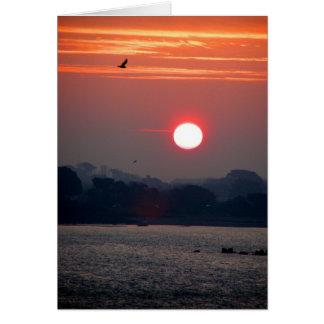 Sunrise in Guernsey Card