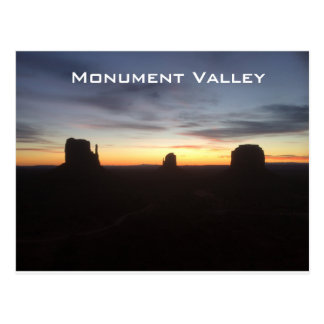 Sunrise in Moment Valley Postcard