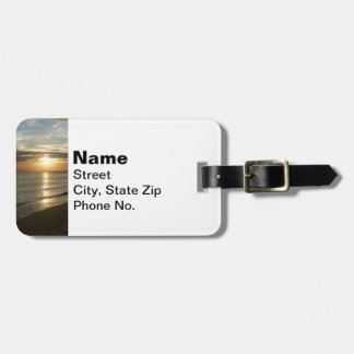 Sunrise in Norfolk VA Luggage Tag
