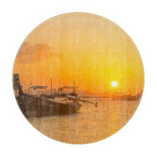 Sunrise in Pak Meng, Trang, Thailand Boards