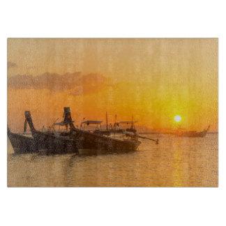 Sunrise in Pak Meng, Trang, Thailand Cutting Board