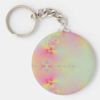 Sunrise in Paradise Basic Round Button Keychain