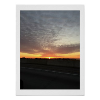 Sunrise in Philadelphia Poster