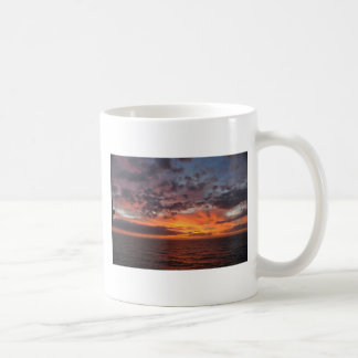 Sunrise in the gulf coffee mug