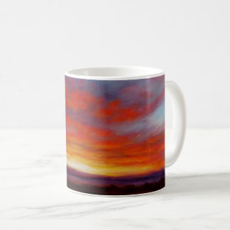 Sunrise in the Mountains of Montana Mug