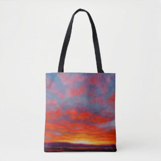 Sunrise in the Mountains of Montana Tote Bag