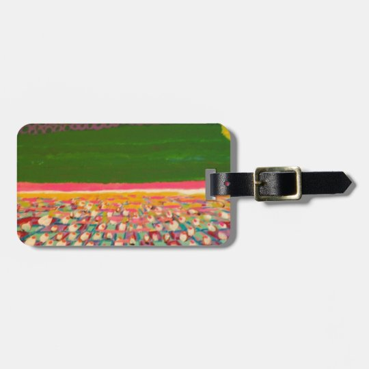 Sunrise in your life luggage tag