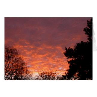 Sunrise - January 2003 Card