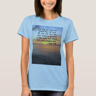 SUNRISE JOHN 3:16 INSPIRING PHOTO T-Shirt