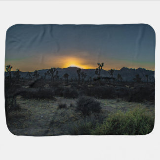 Sunrise Joshua Tree National Park Baby Blanket