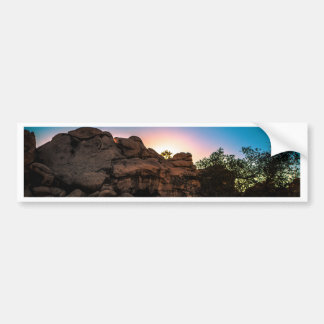 Sunrise Joshua Tree National Park Bumper Sticker