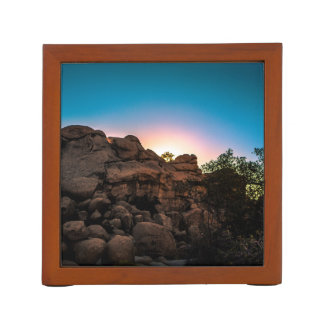 Sunrise Joshua Tree National Park Desk Organizer