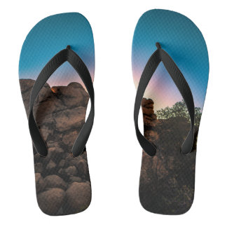 Sunrise Joshua Tree National Park Flip Flops