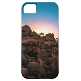 Sunrise Joshua Tree National Park iPhone 5 Covers