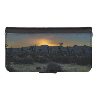 Sunrise Joshua Tree National Park iPhone SE/5/5s Wallet Case
