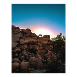 Sunrise Joshua Tree National Park Letterhead