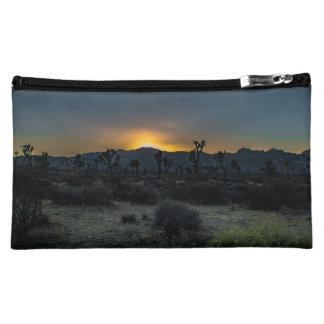 Sunrise Joshua Tree National Park Makeup Bag