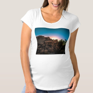 Sunrise Joshua Tree National Park Maternity T-Shirt
