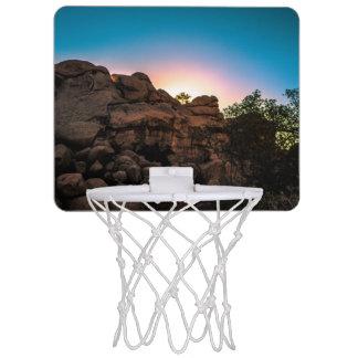 Sunrise Joshua Tree National Park Mini Basketball Hoop