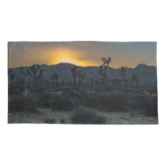 Sunrise Joshua Tree National Park Pillowcase