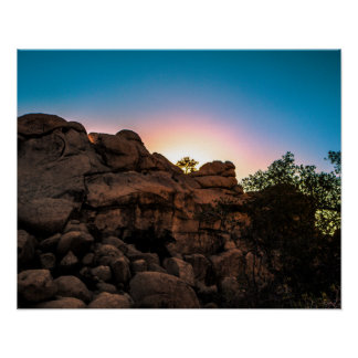 Sunrise Joshua Tree National Park Poster