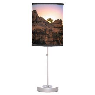 Sunrise Joshua Tree National Park Table Lamp
