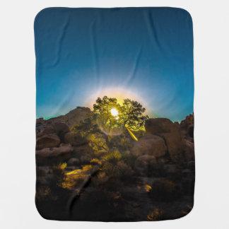Sunrise Joshua TreeNational Park Baby Blanket