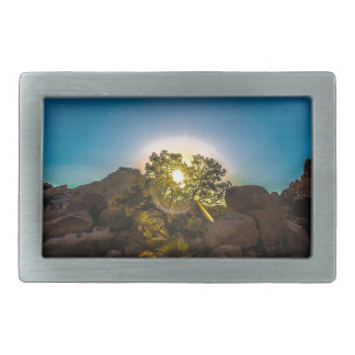 Sunrise Joshua TreeNational Park Belt Buckle