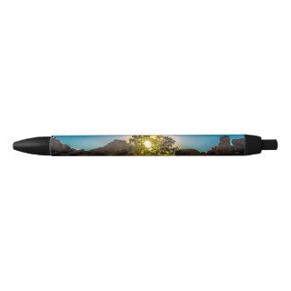 Sunrise Joshua TreeNational Park Black Ink Pen