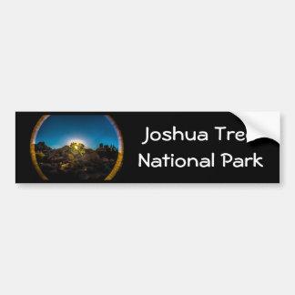 Sunrise Joshua TreeNational Park Bumper Sticker