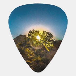 Sunrise Joshua TreeNational Park Guitar Pick