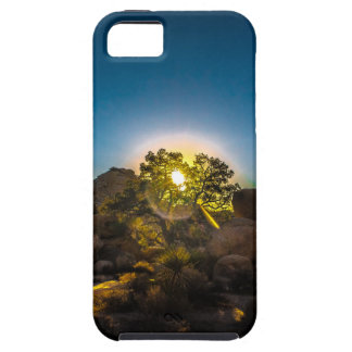 Sunrise Joshua TreeNational Park iPhone 5 Cover