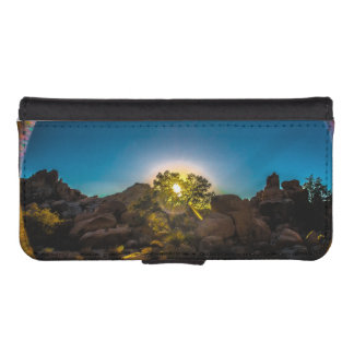 Sunrise Joshua TreeNational Park iPhone SE/5/5s Wallet Case