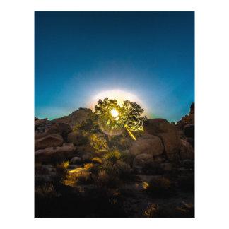 Sunrise Joshua TreeNational Park Letterhead