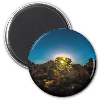Sunrise Joshua TreeNational Park Magnet