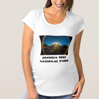 Sunrise Joshua TreeNational Park Maternity T-Shirt