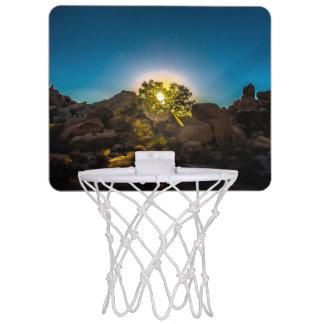 Sunrise Joshua TreeNational Park Mini Basketball Hoop