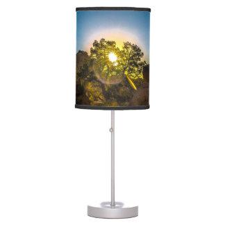 Sunrise Joshua TreeNational Park Table Lamp